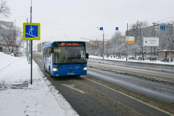 Москвичей попросили пересесть наобщественный транспорт из-занепогоды