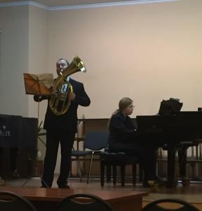 Врайонной школе искусств прошел концерт духовых инструментов