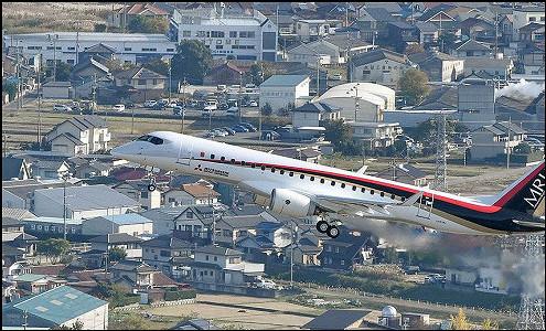 Япония вылетела на рынок коммерческих самолетов