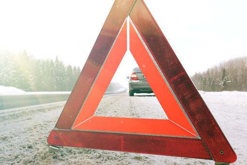 Насъезде сКиевского шоссе наМКАД произошло ДТП