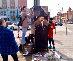 Народное граффити или25ящиков челябинских урбанистов