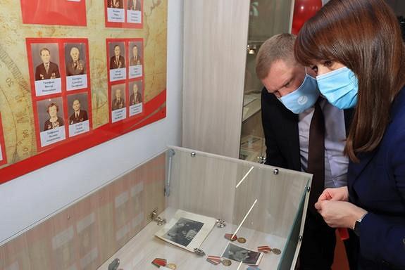 Южноуральский музей стал интерактивным благодаря школьницам
