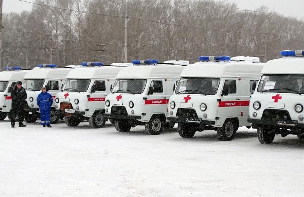 16новых машин «Скорой помощи» приехали наВологодчину
