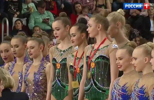 Завершился московский этап Гран-припохудожественной гимнастике