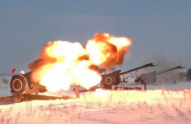Ночные репетиции ипротивотанковые пушки: какпроходят учения салютных дивизионов впреддверии 23февраля