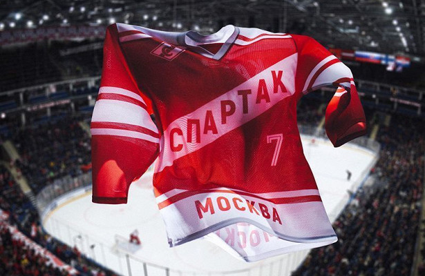 «Спартак» выйдет наматч со«Слованом» вформе 1980-хгодов (фото)