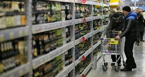 Госдуме предложили десятикратно увеличить штрафы продавцам алкоголя