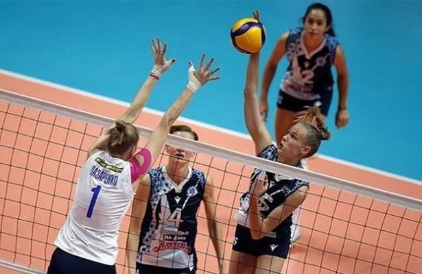 «Динамо-АкБарс» втрех сетах обыграло краснодарское «Динамо»