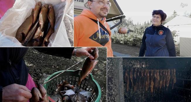 Как коптят рыбу на острове Сааремаа