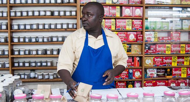 Как продают кенийский чай