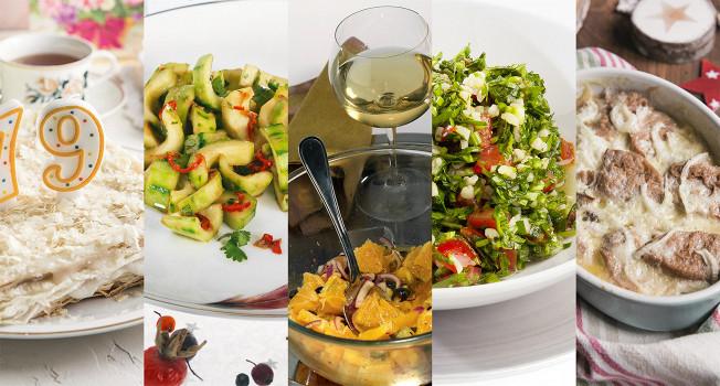 Десять постных блюд на Новый год