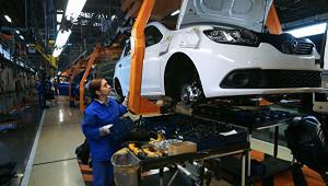 Производство автомобилей вРоссии упало на25%