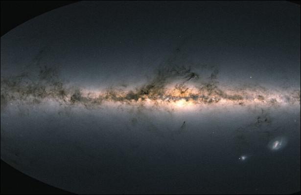 Создана самая детальная 3D-карта Млечного Пути