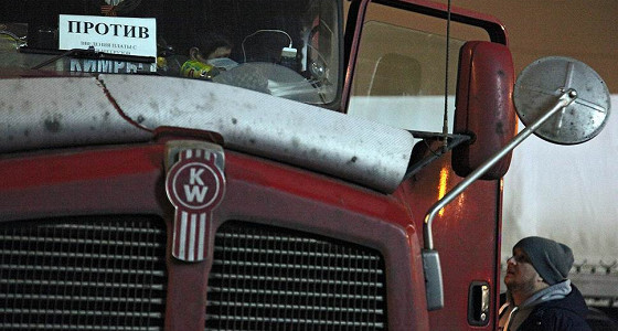 Задержки зарплат вытеснили протесты дальнобойщиков