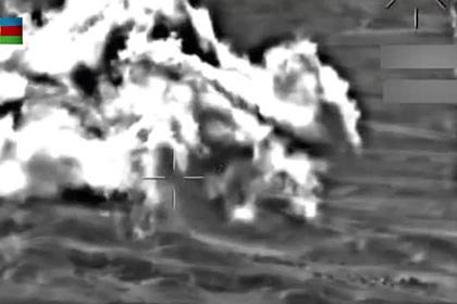 Пуск ракет поАзербайджану попал навидео