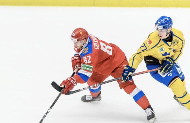 Сборная России побуллитам обыграла Швецию
