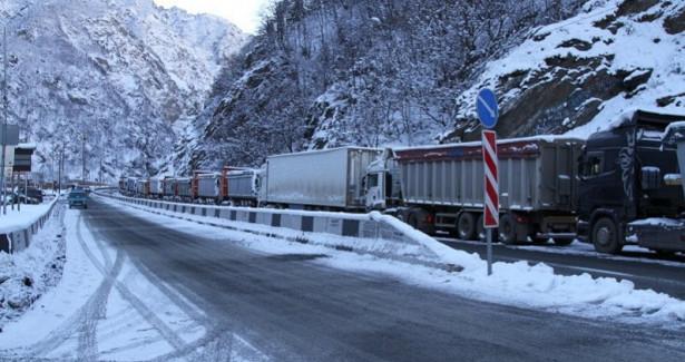 Военно-Грузинская дорога открыта длявсех видов транспорта