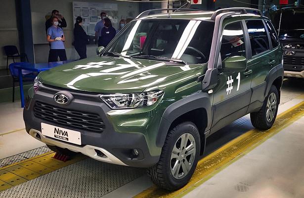 Новую Lada Niva впервые показали навидео