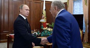 Президент России и лидер ЛДПР поговорили о бюджете