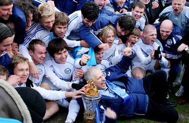 Каксейчас выглядят чемпионы России всоставе «Зенита»-2007