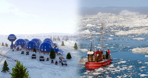 «Пощупать будущее» и«влюбить вАрктику»