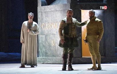 Большой театр готовится кпремьере оперы «ДонКарлос»
