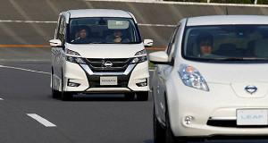 Nissan выпускает первый полуавтономный автомобиль