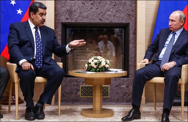 Мадуро иПутин могут провести переговоры вдекабре