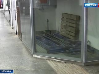 Тактильную плитку дляслепых впереходе станции «Дубровка» приведут впорядок