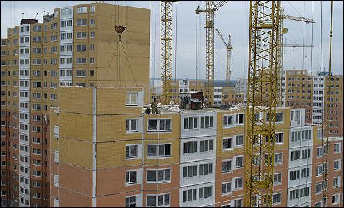 Объем жилищного строительства в I квартале вырос на 33%